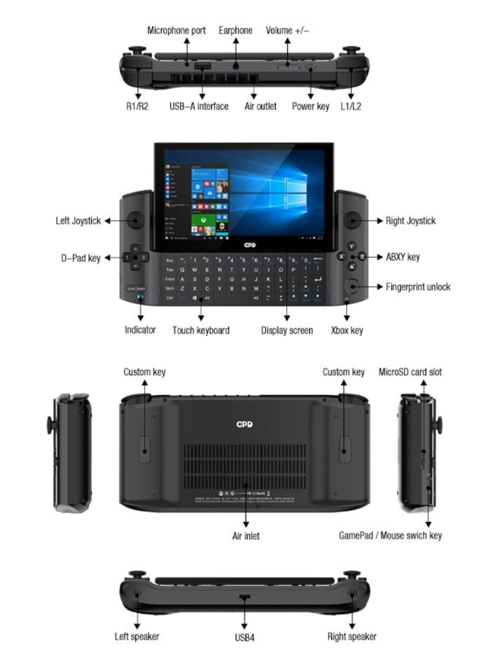 GPD Win 3 gaming PC