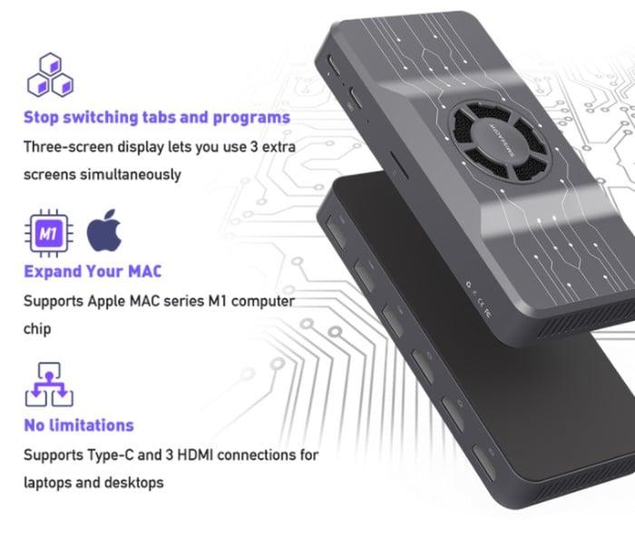 HDMI hub Apple M1