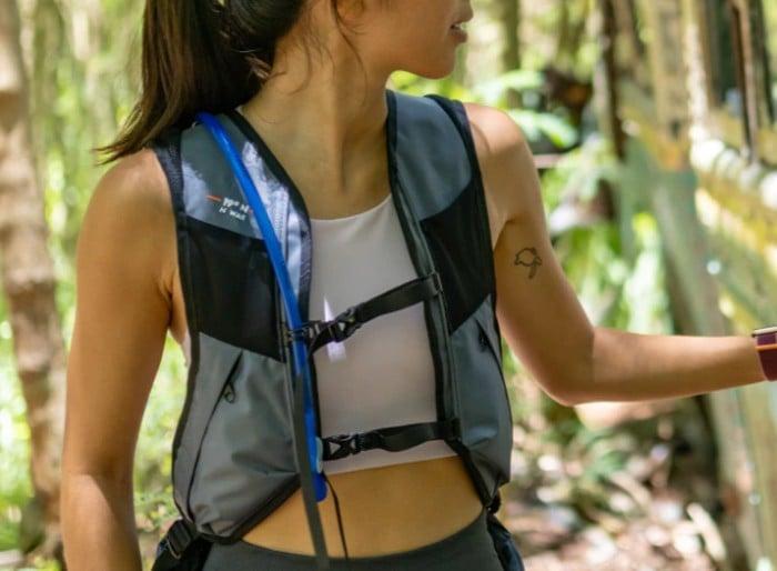 Honu wearable cooling backpack