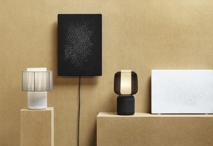 IKEA table lamp speaker
