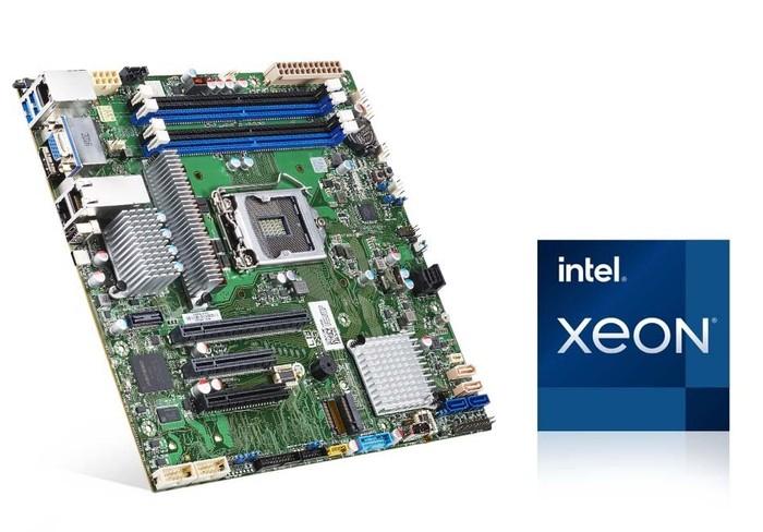 Intel Xeon E-2300 Processor-based server motherboard