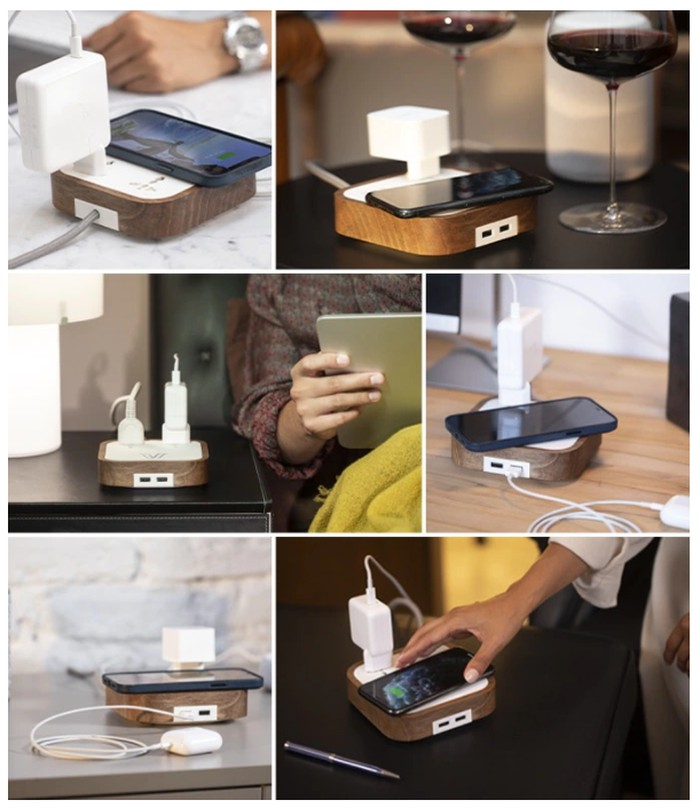 Premium wireless charger