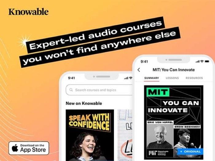 Knowable Audio Learning Platform Lifetime Subscription