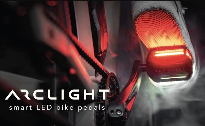 Arclight LED light bike pedals