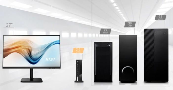 MSI PRO DP21 desktop PC workstations