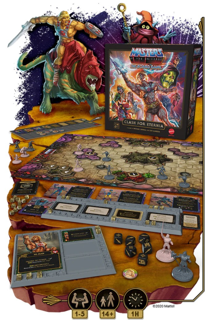 Masters of the Universe board game
