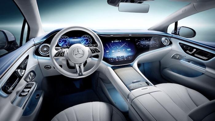 Mercedes EQE EV