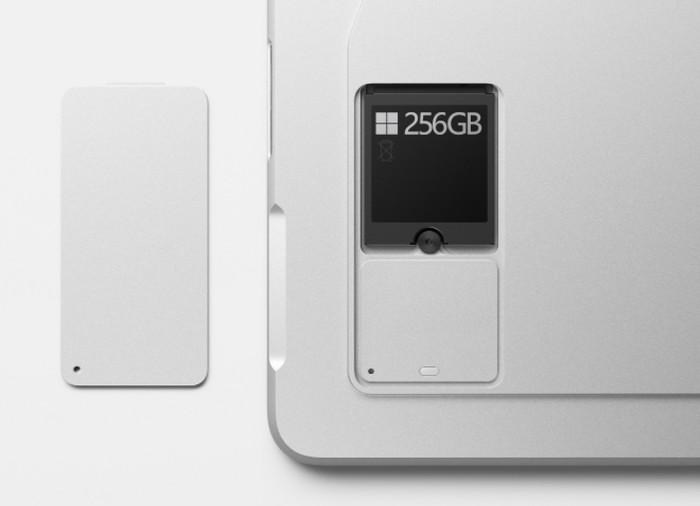 Microsoft Surface Pro 8 storage