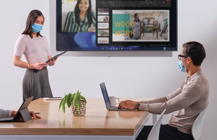 Microsoft Teams features for new hybrid work