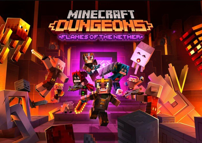 Minecraft Dungeons launches on Steam