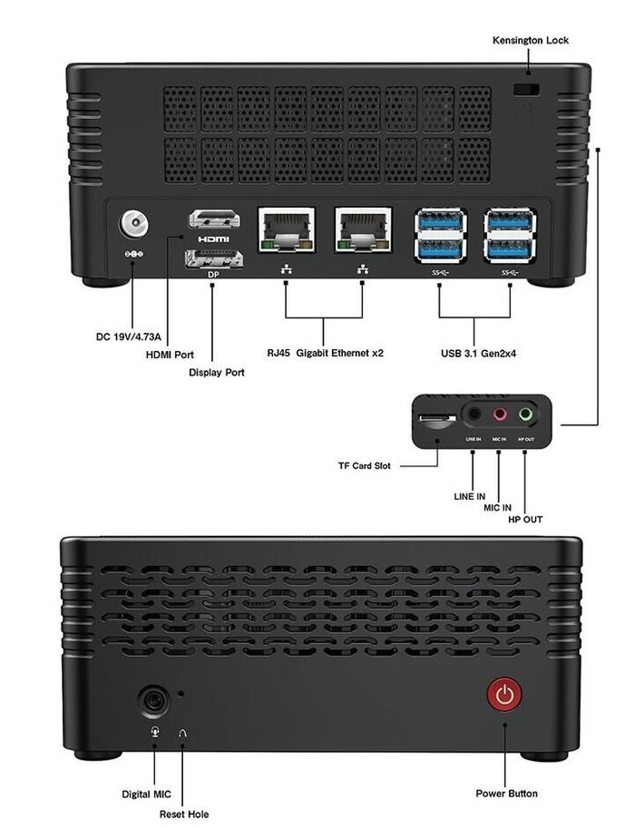 Minisforum EliteMini X500 mini PC