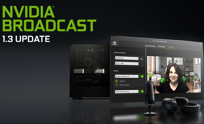 NVIDIA Broadcast App 1.3 Update