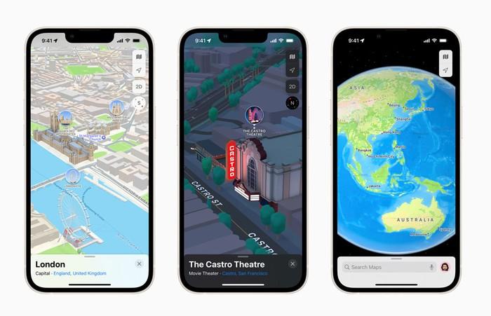 New Apple iOS Maps app