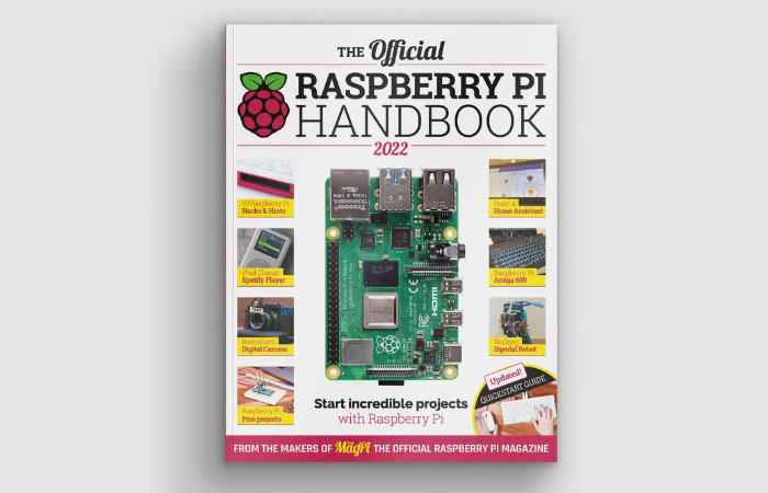 New Raspberry Pi Handbook 2022