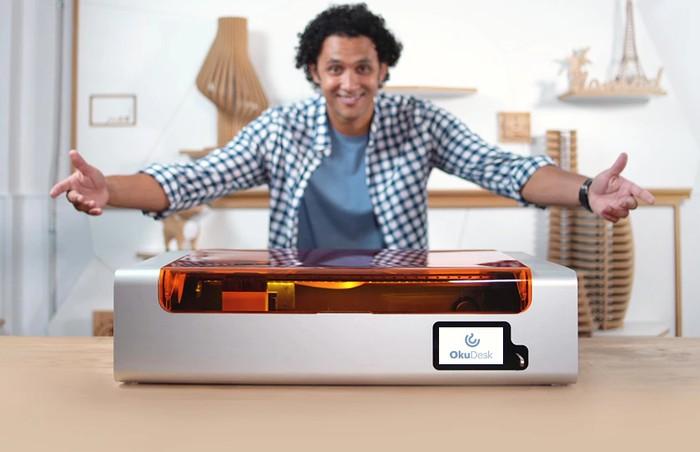 OKU Desk desktop laser engraver