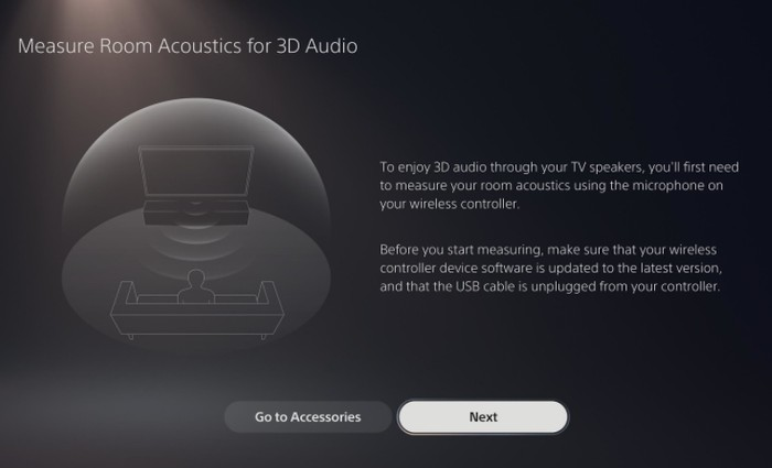 PlayStation 5 3D Audio update
