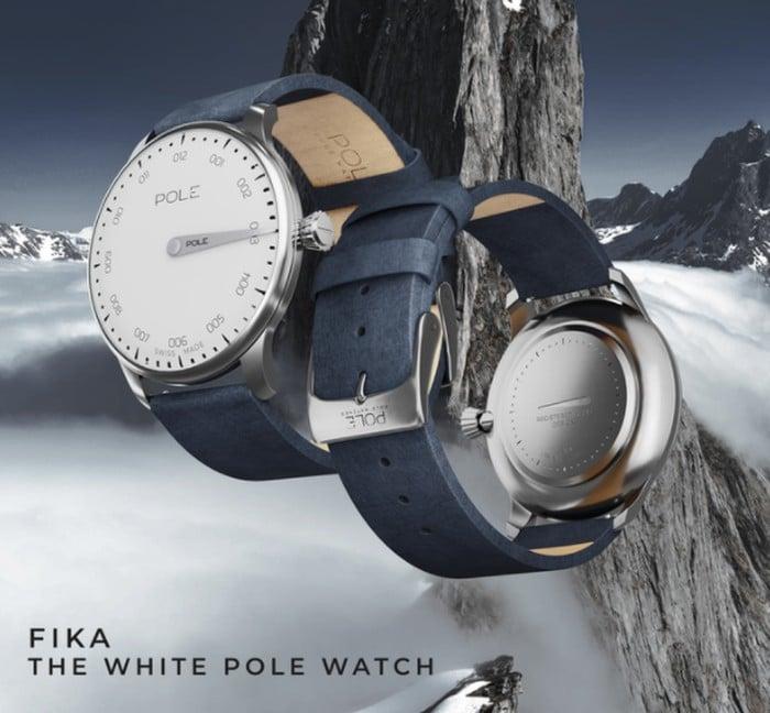 Pole Swiss watch