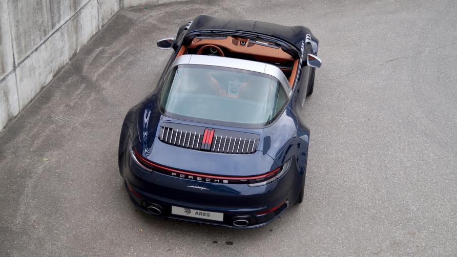 Porsche 992 Targa by ARES