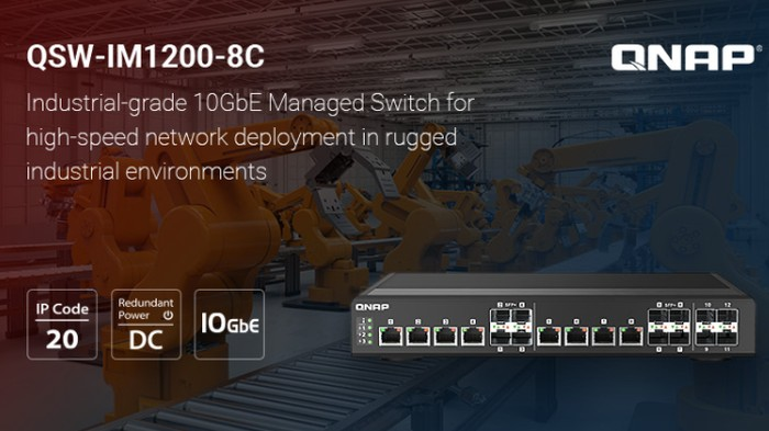 QNAP 10GbE Switch