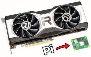 Raspberry Pi AMD Radeon RX 6700 XT