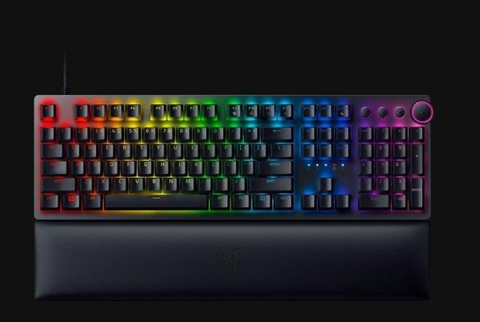 Razer Huntsman V2 optical gaming keyboard