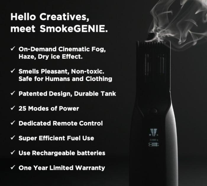 SmokeGenie smoke machine