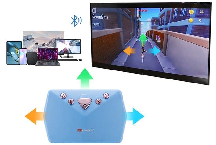 Somatosensory game controller