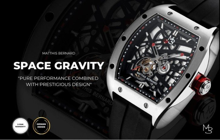 Space Gravity automatic watch