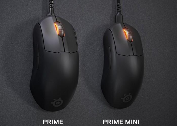 SteelSeries Prime Mini and Mini Wireless eSports mice