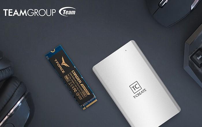 Teamgroup SSD external hard drive