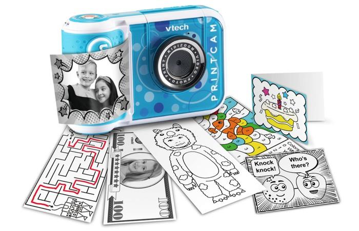 VTech KidiZoom PrintCam instant camera for kids