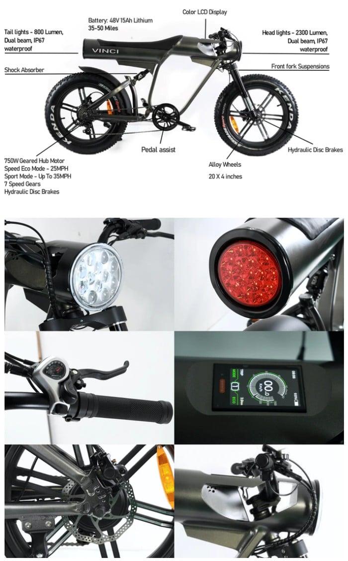 Vinci electric bike