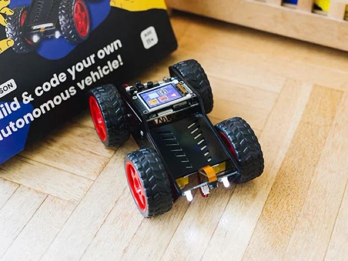 Wheelson Build & Code Your Own AI Self-Driving Car