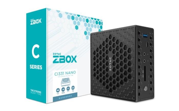 Zotac ZBOX CI331 nano fanless mini PC