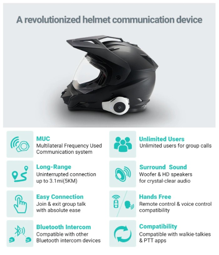 helmet communication system