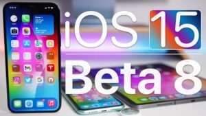 iOS 15 beta 8