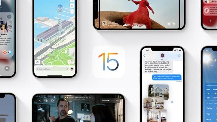 iOS 15 and iPadOS 15