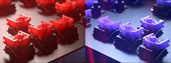 keyboard optical switches