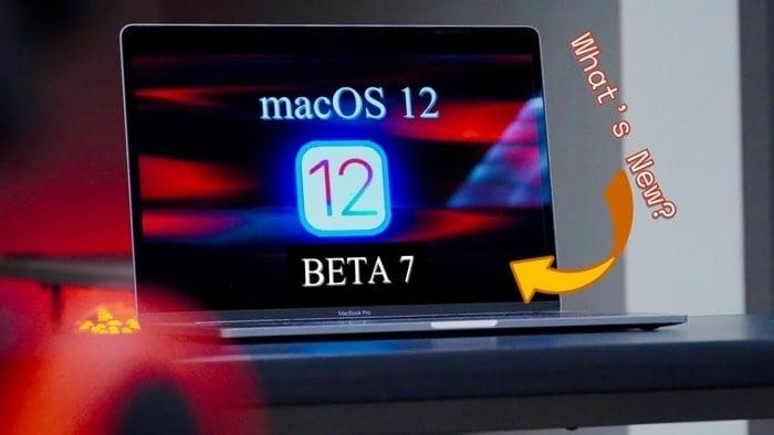 MacOS 12 Monterey beta 7