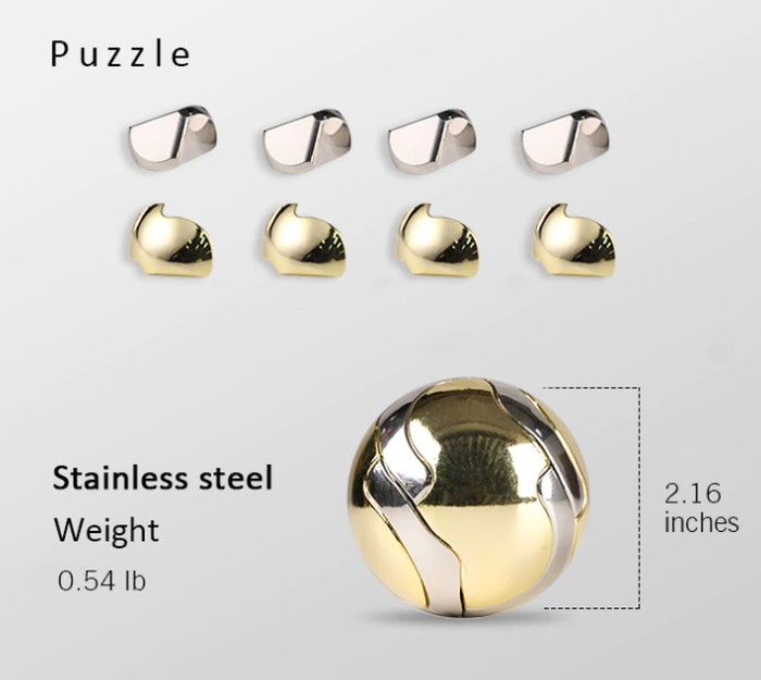 mechanical puzzle ball components