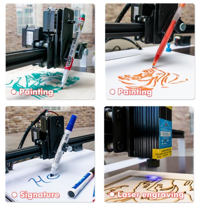 robotic CNC drawing machine