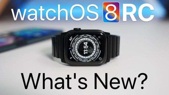 watchOS 8 RC