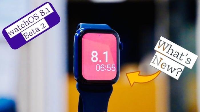 watchOS 8.1 beta 2