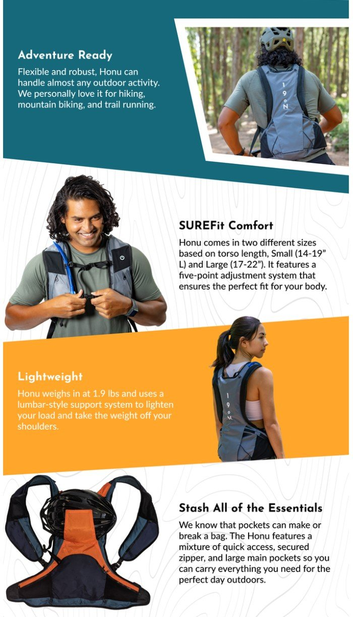 wearable cooling backpack