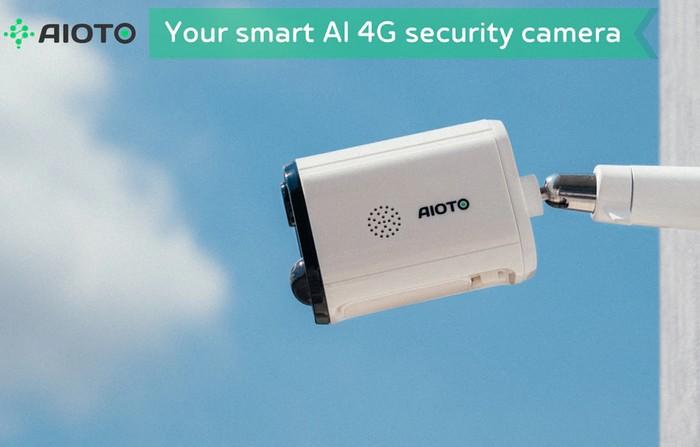 4G wireless outdoor security cameras