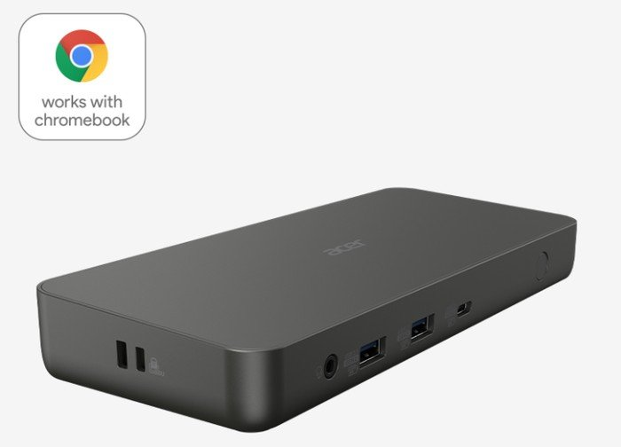 Acer Chromebook USB-C dock