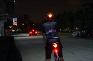 Blincclip blinking super-bright bicycle reflector