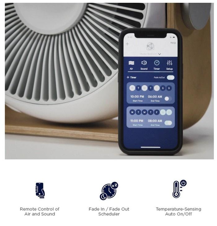Breez fan phone application