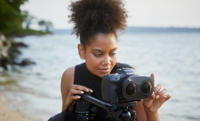 Canon Dual Fisheye Lens VR
