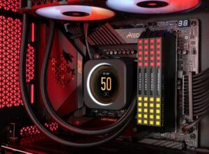 Corsair ELITE LCD CPU liquid coolers